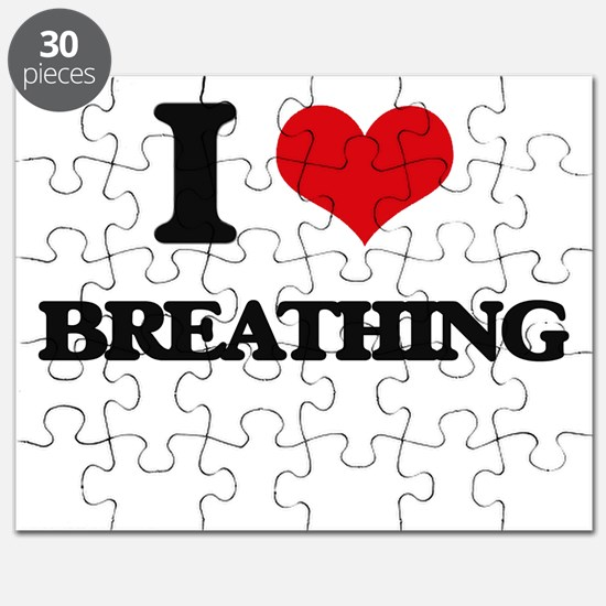 I Love Breathing Puzzle