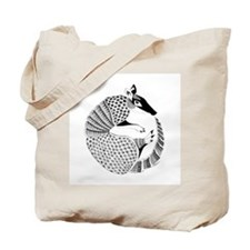 Possum on the Half Shell Tote Bag