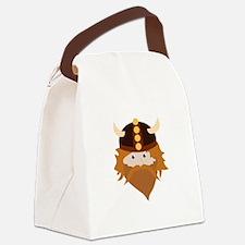 Viking Head Canvas Lunch Bag