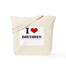 I Love Brethren Tote Bag