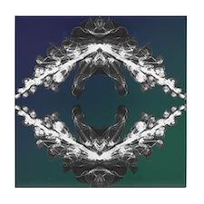 Floral Mandala Tile Coaster
