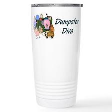 Unique Dumpster diving Travel Mug