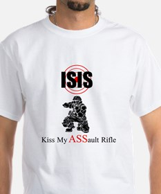 Isis Kiss My Assault Rifle Shirt