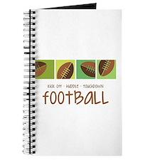 Football Touchdown Journal
