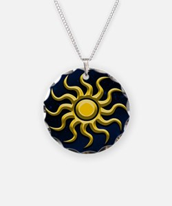 Sun In The Starry Sky Necklace