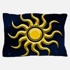 Sun In The Starry Sky Pillow Case