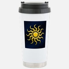 Sun In The Starry Sky Travel Mug