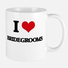 I Love Bridegrooms Mugs
