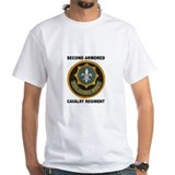 2nd armored cavalry regiment Mens White T-shirts