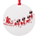 Cross fit Round Ornament