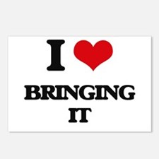 I Love Bringing It Postcards (Package of 8)