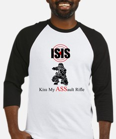 ISIS Kiss My Assault Rifle Baseball Jersey