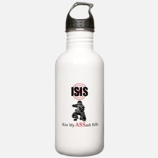 ISIS Kiss My Assault Rifle Water Bottle