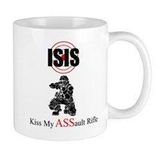 ISIS Kiss My Assault Rifle Mugs