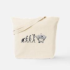 Valve evolutuon Tote Bag
