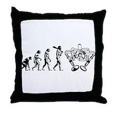 Valve evolutuon Throw Pillow