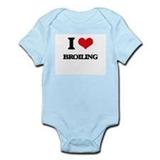 I Love Broiling Body Suit