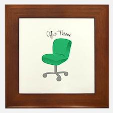 Office Throne Framed Tile