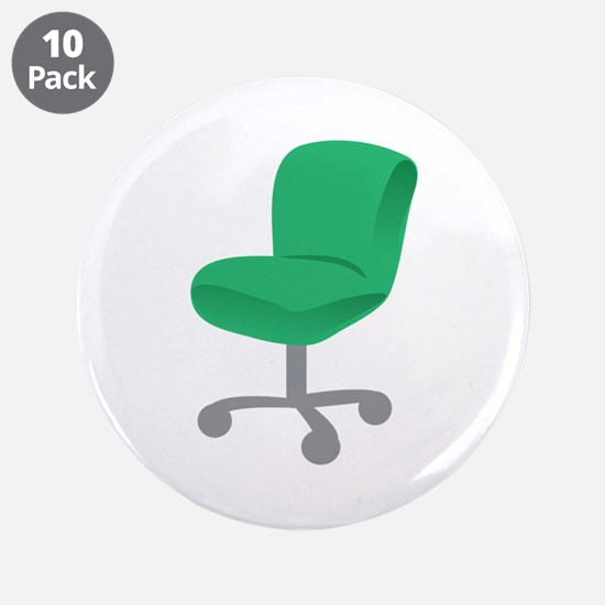 """Office Chair 3.5"""" Button (10 pack)"""