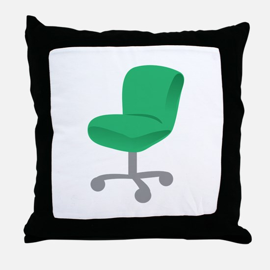 Office Chair Throw Pillow