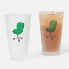 Office Chair Drinking Glass