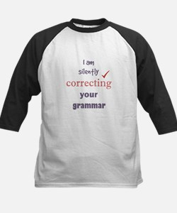 Silently Correcting your Grammar Humor Quote Baseb