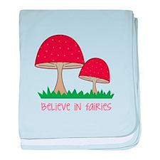 Believe In Fairies baby blanket