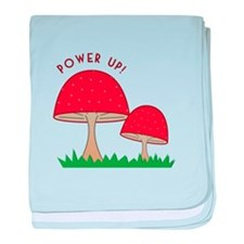 Power Up baby blanket
