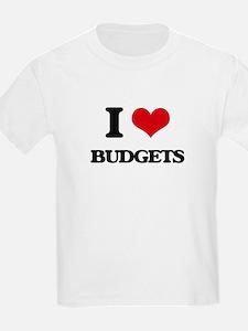 I Love Budgets T-Shirt