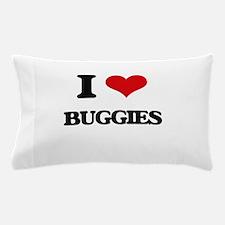 I Love Buggies Pillow Case