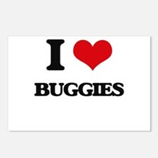 I Love Buggies Postcards (Package of 8)