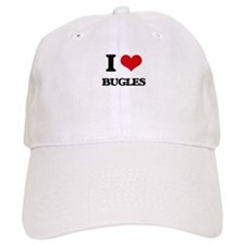 I Love Bugles Baseball Cap