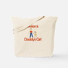 Vivian is Grandpa's Girl Tote Bag