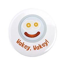"Wakey Wakey 3.5"" Button (100 pack)"