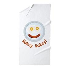 Wakey Wakey Beach Towel