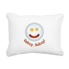 Wakey Wakey Rectangular Canvas Pillow