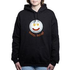 Wakey Wakey Women's Hooded Sweatshirt