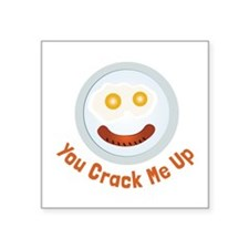 Crack  Me Up Sticker
