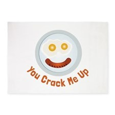 Crack  Me Up 5'x7'Area Rug