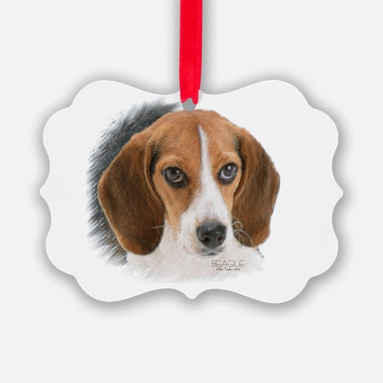 Beagle Close Up Ornament