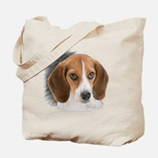 Beagle Close Up Tote Bag