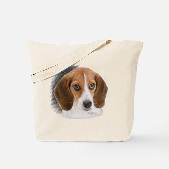 Beagle Close Up Tote Bag