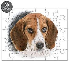 Beagle Close Up Puzzle