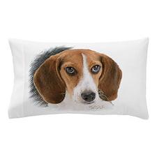 Beagle Close Up Pillow Case