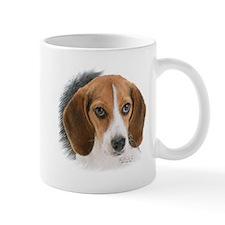 Beagle Close Up Mug Mugs