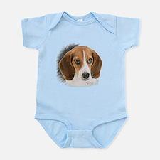 Beagle Close Up Infant Bodysuit