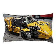 Sexy Racing Pug Pillow Case