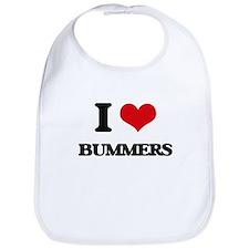 I Love Bummers Bib