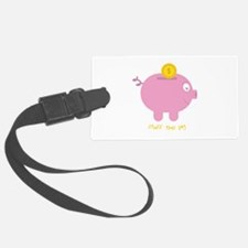 Stuff The Pig Luggage Tag
