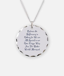 Embrace the Differences Necklace